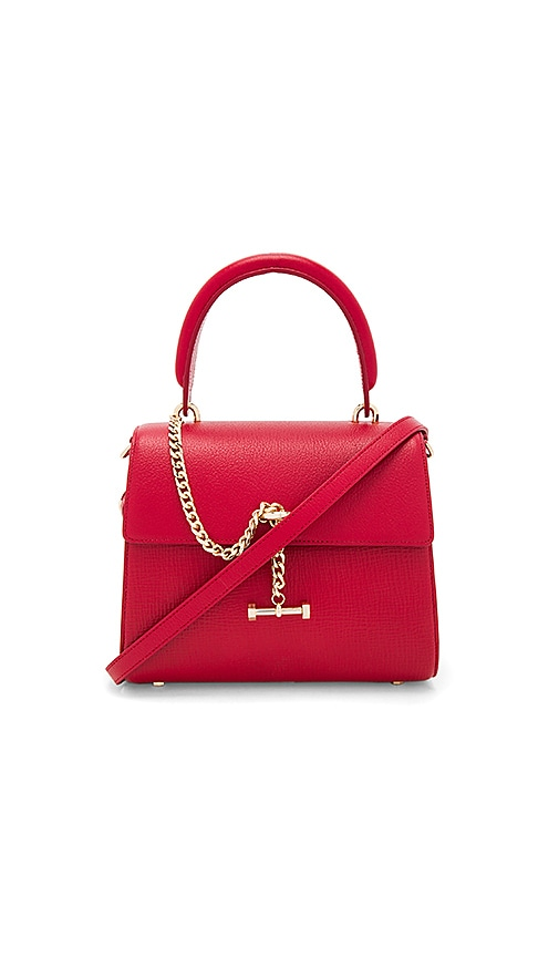 Luana Italy Paley Mini Satchel in Red