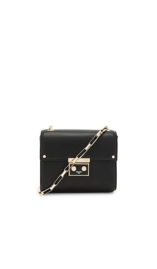 Luana Italy Marella Mini Shoulder Bag in Black