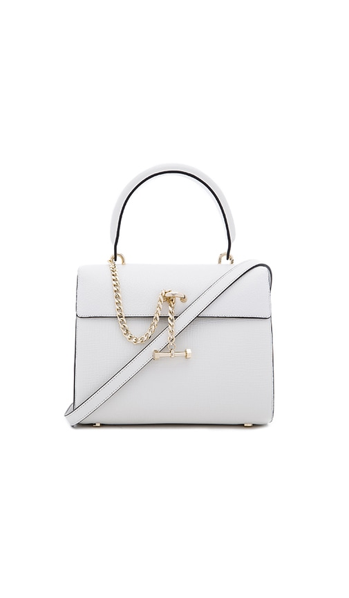 Luana Italy Paley Mini Satchel in White