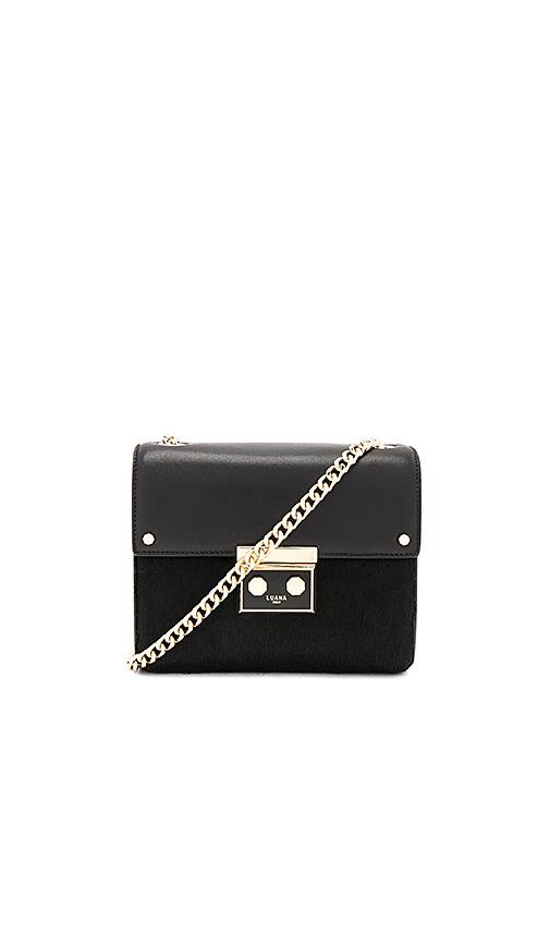 Luana Italy Marella Mini Shoulder Bag in Black