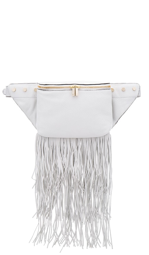 Luana Italy Raquel Belt Bag in White