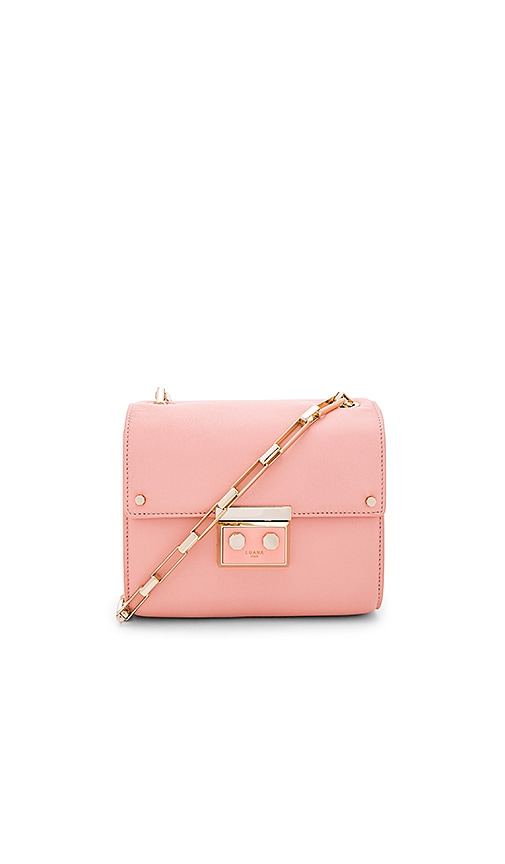 Luana Italy Anais Mini Shoulder Bag in Pink