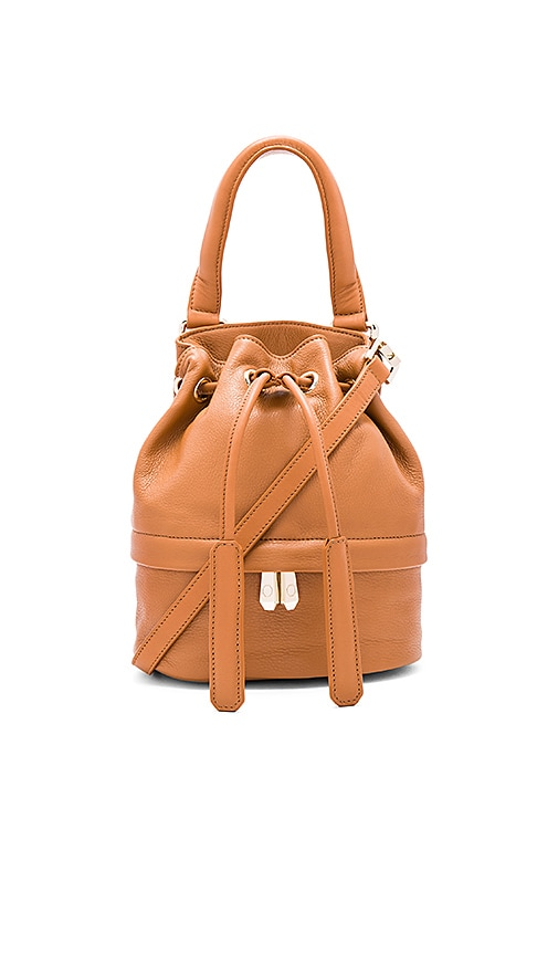 Luana Italy Theo Baby Bucket Bag in Tan