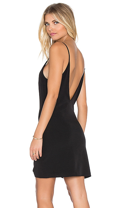 Lucca Couture Slip Dress in Black