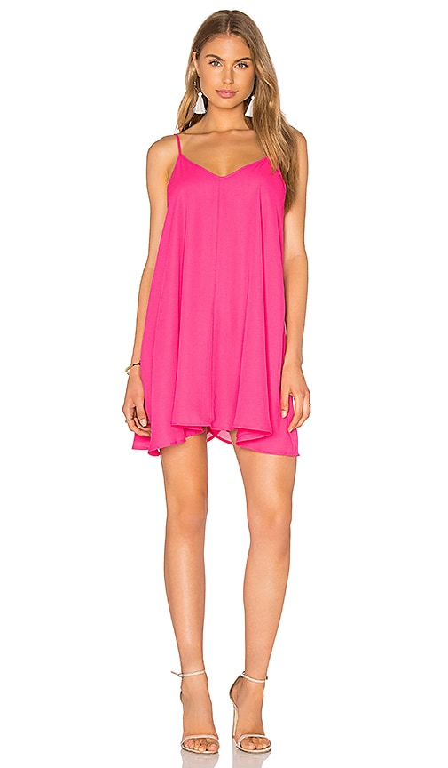Lucca Couture Tank Dress in Pink
