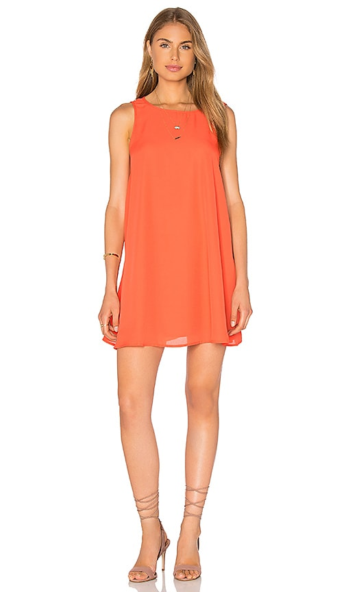 Lucca Couture Tank Mini Dress in Orange