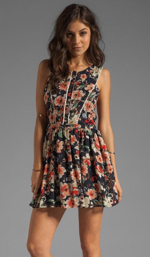 Floral Tank Mini Dress