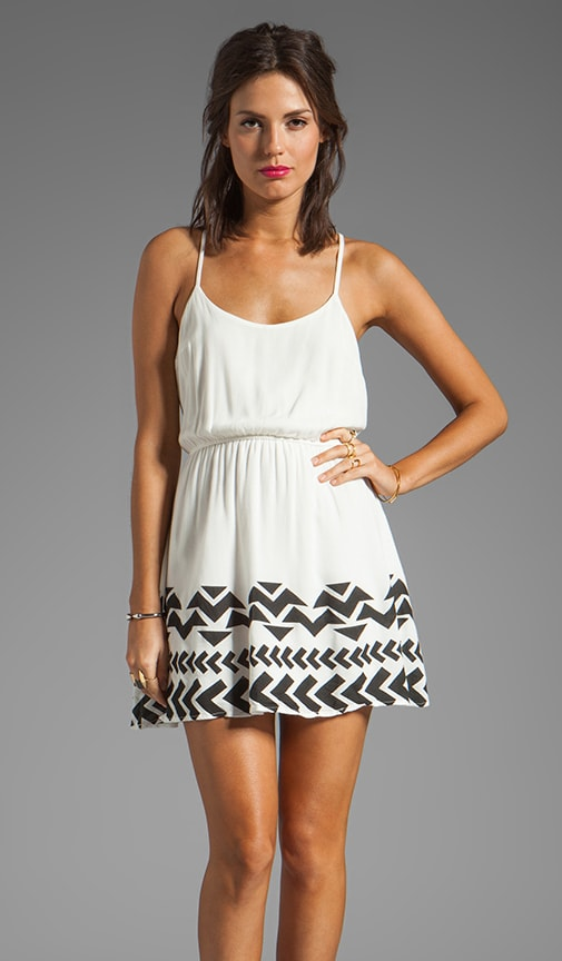 Tank Dress with Bottom Hem Detail
