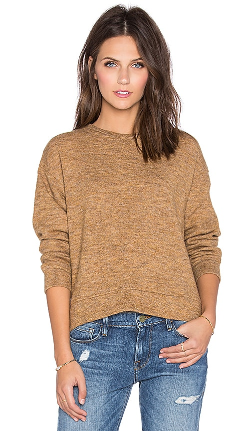Lucca Couture Pullover Sweater in Mustard