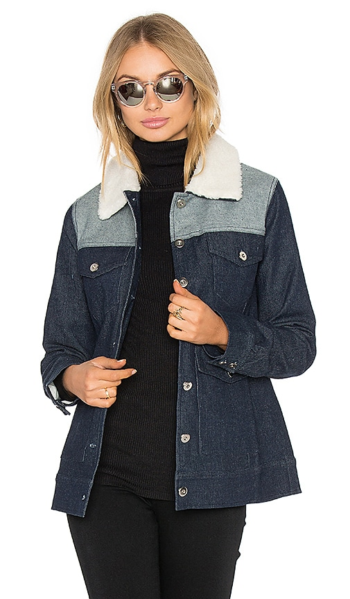 Lucca Couture Arya Jacket in Denim Mix
