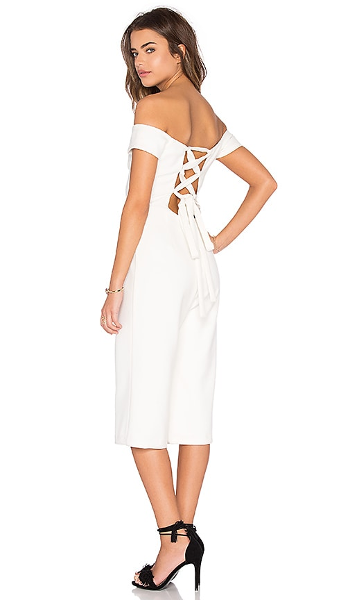 a18b240d5668db Lucca Couture Ballerina Off Shoulder Cropped Jumpsuit in Off White ...