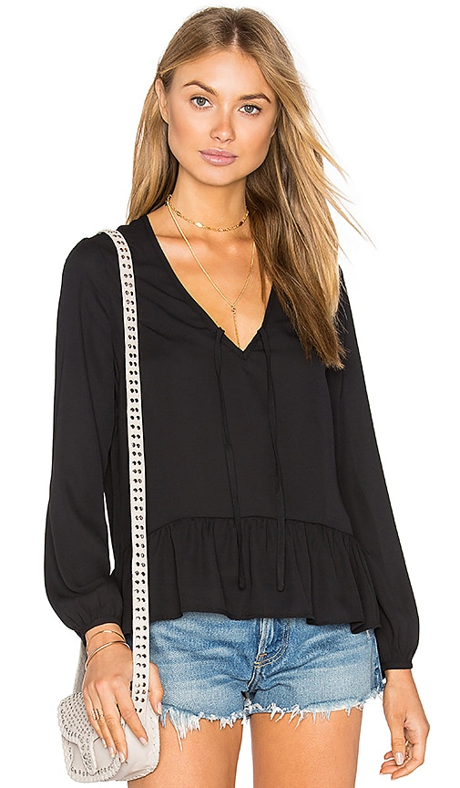 Lucca Couture Kylie Top in Black