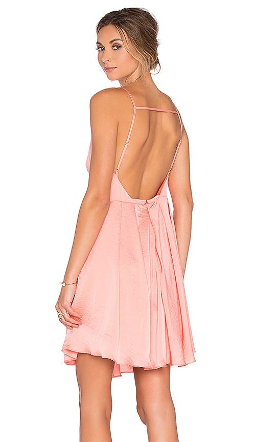 Lucy Paris Gypsy Dress in Coral
