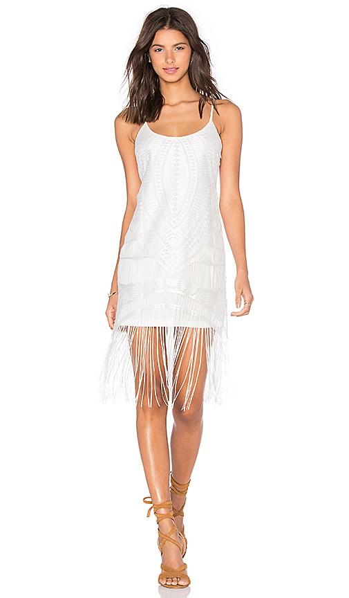 x REVOLVE Lily Fringe Dress
