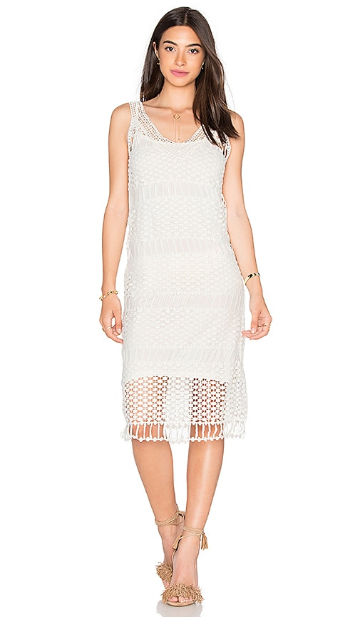Lucy Paris Cami Dress in White