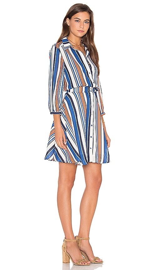 Lucy Paris Arielle Dress in Blue