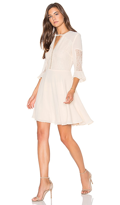 Lucy Paris Cassandra Dress in Ivory