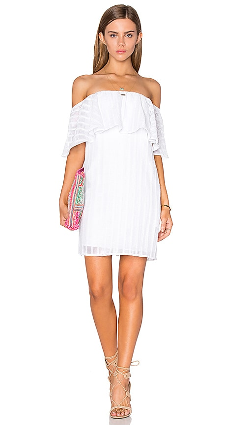 Lucy Paris Sharon Dress in White