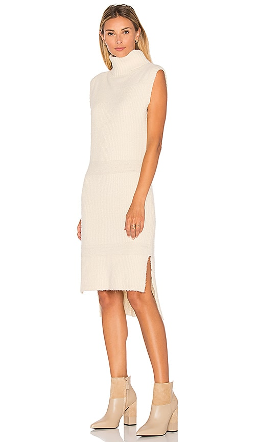 Lucy Paris Danielle Knit Dress in Cream
