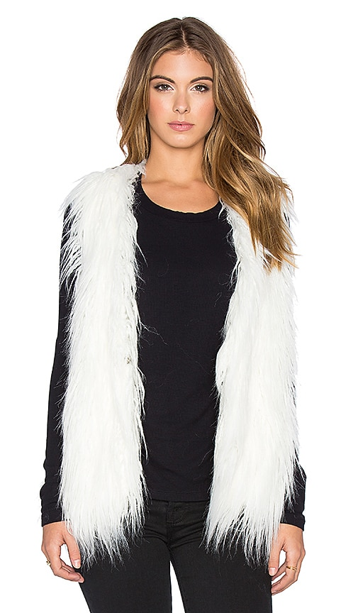 Faux Fur Shag Perfect Vest