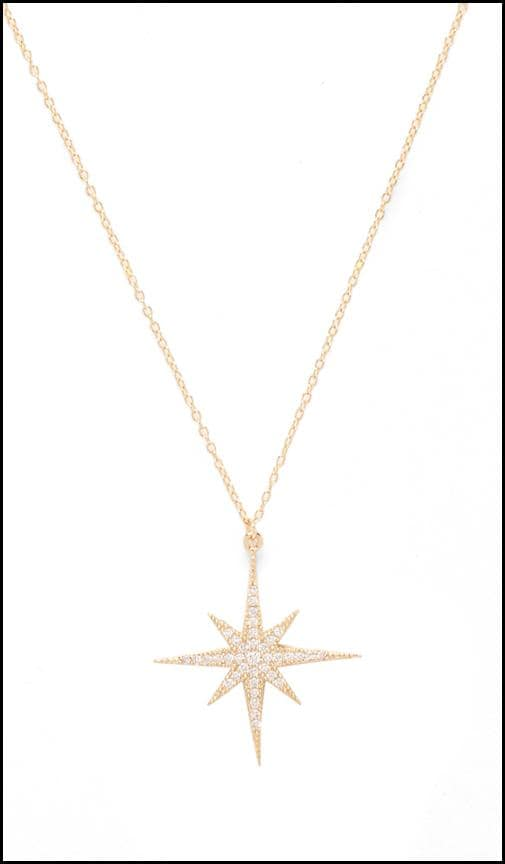 da5a1417f2984 Lucky Star North Star Necklace in Gold | REVOLVE