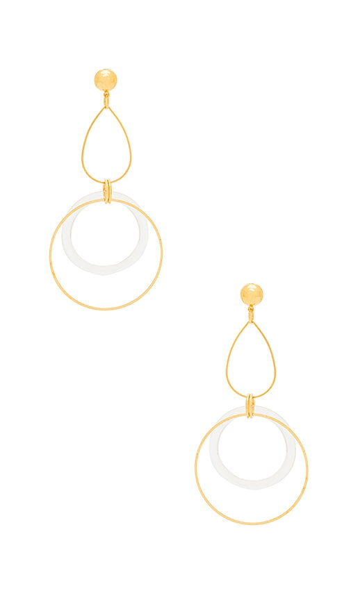 Linked Circle Earring