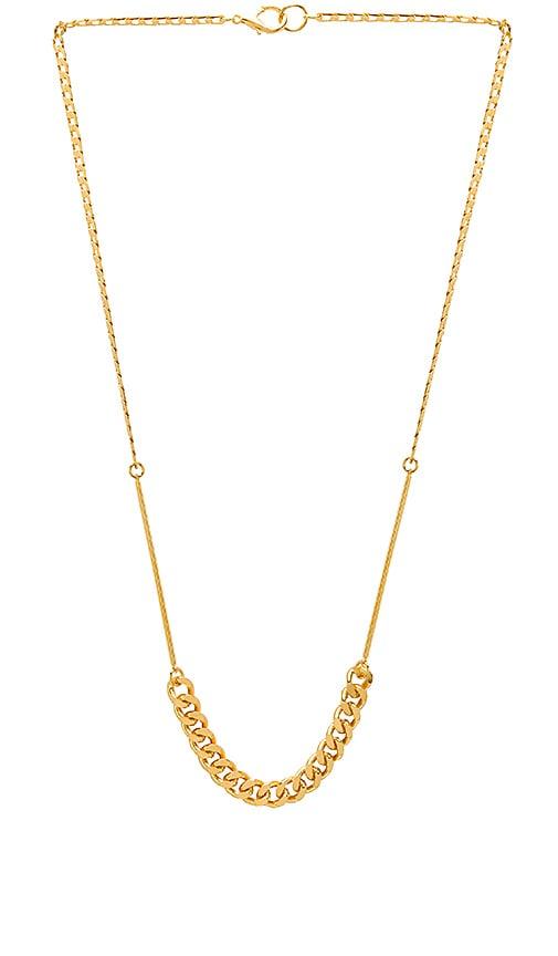 LARUICCI Chain Necklace in Metallic Gold