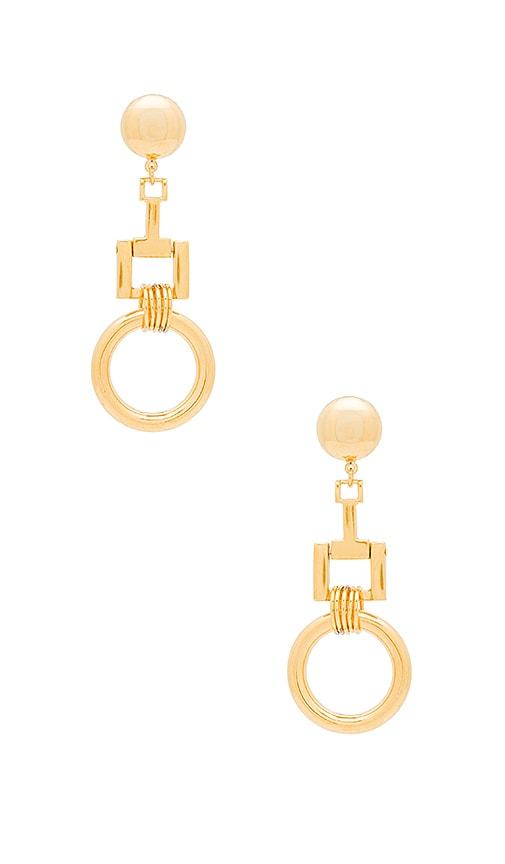 Linked Ring Earrings