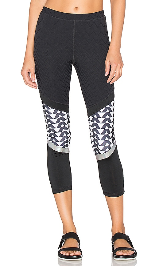 lukka lux Mimicry Crop Legging in Black