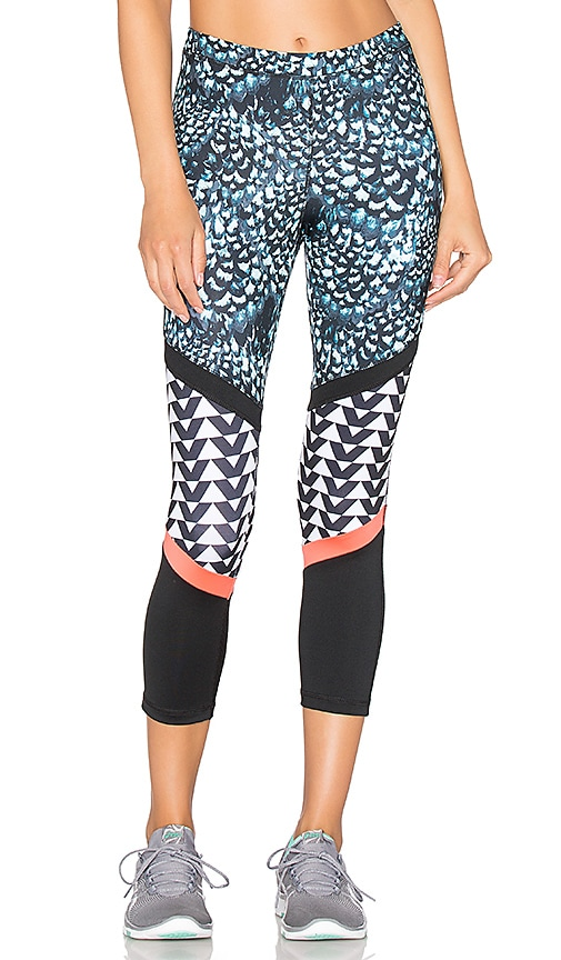 lukka lux Mimicry Crop Legging in Blue