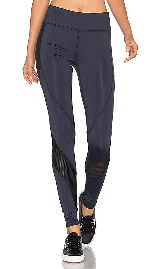 lukka lux Blue Lagoon Leggings in Navy