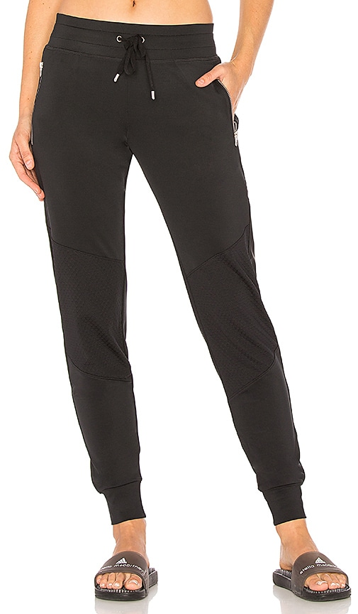lukka lux Singled Out Jogger in Black