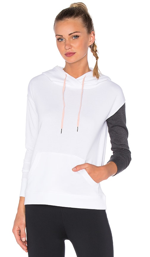 lukka lux Biome Blocked Hoodie in White