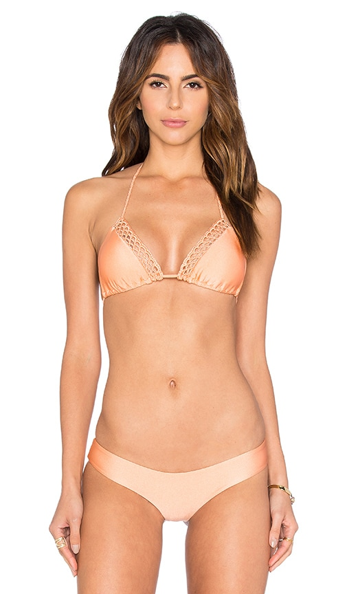 Let's Be Mermaids Triangle Bikini Top