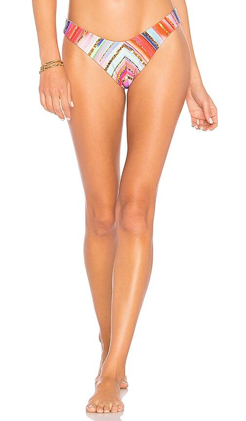 Luli Fama Havana Reversible Bikini Bottom in Pink