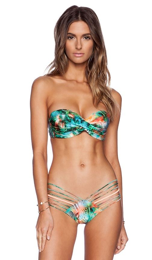 0cbbccfe73 Miami Nice Bandeau Bikini Top. Miami Nice Bandeau Bikini Top. Luli Fama