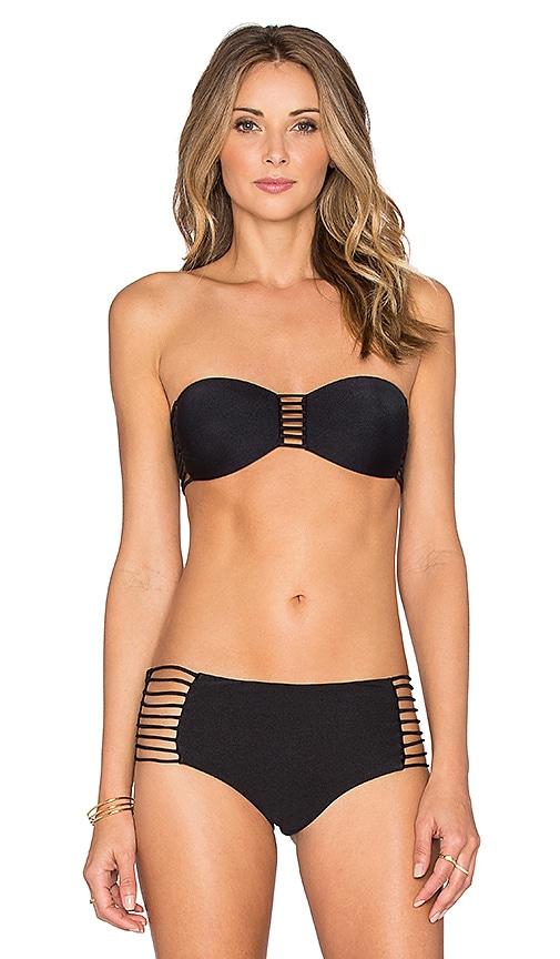Verano de Rumba Bandeau Bikini Top