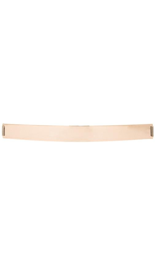 Thick Gold Banded Belt