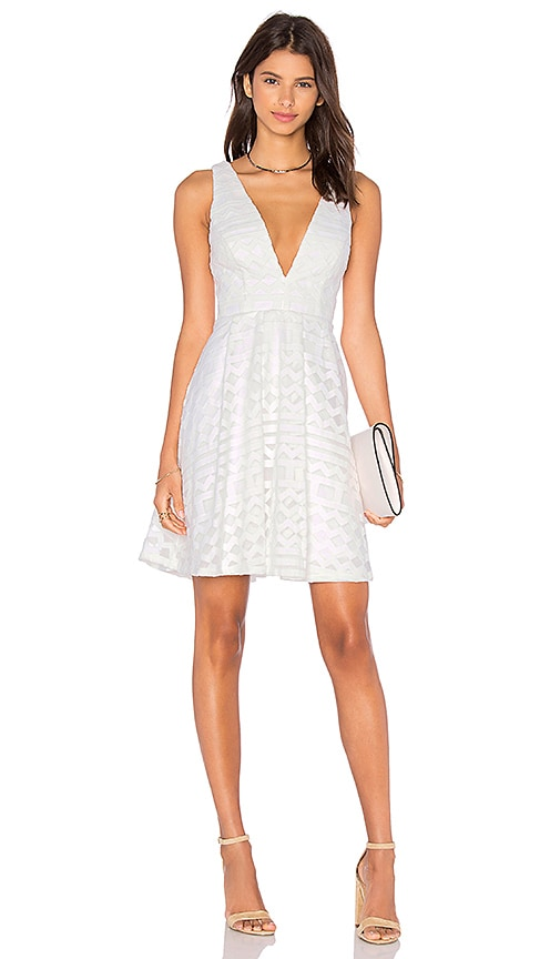 Lumier All About You Fit & Flare Dress in White