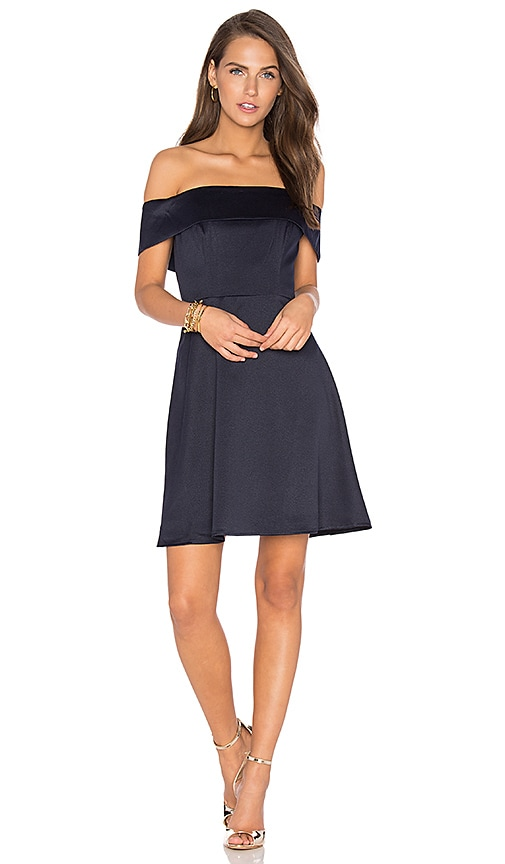 Lumier Body Language Dress in Blue
