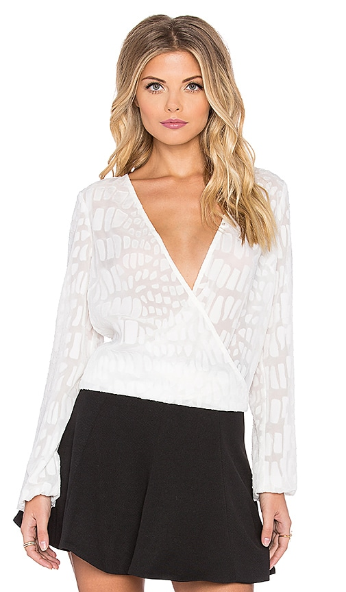 Lumier Ever So Euphoric Blouse in White