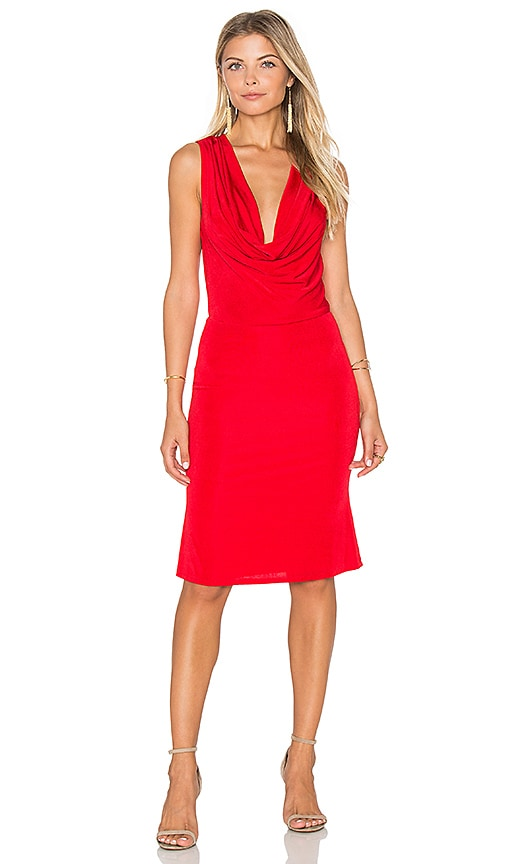Lurelly Bianca Dress in Red