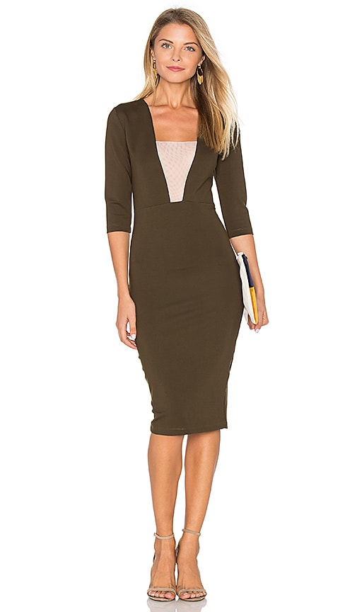 Lurelly London Dress in Olive