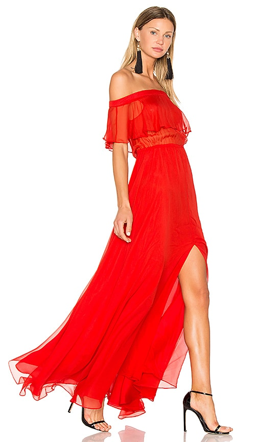 Lurelly Sol Maxi Dress in Red