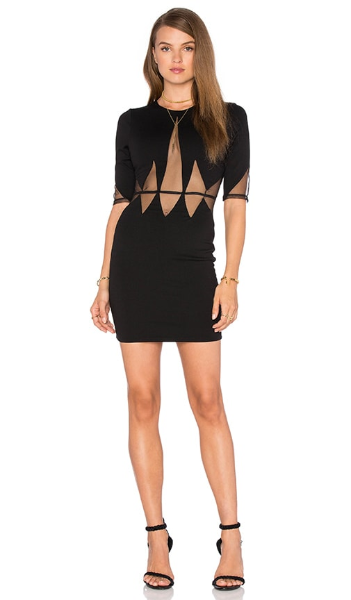 Lurelly Cleo Dress in Black