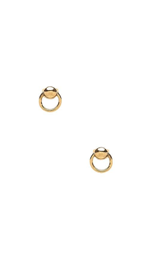 Ring of Fire Stud Earrings