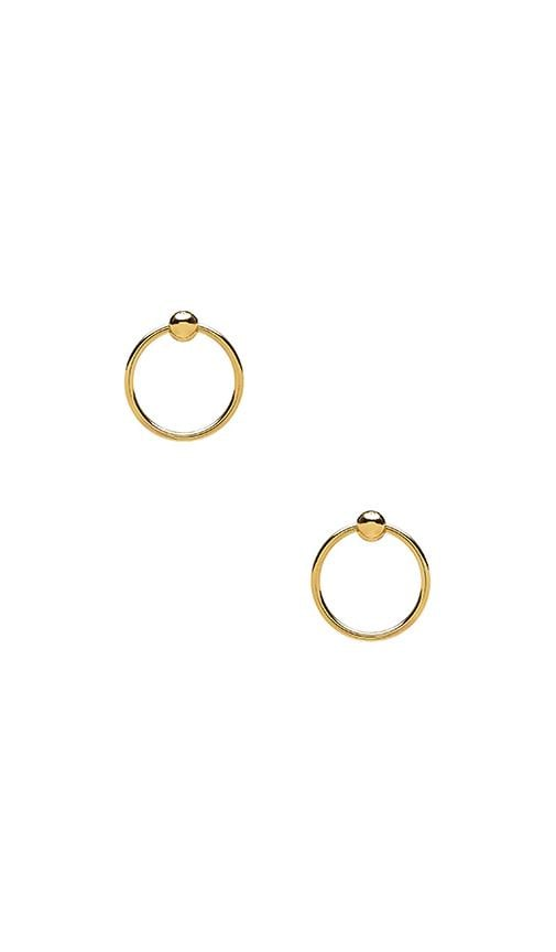 Ring of Fire Statement Earrings