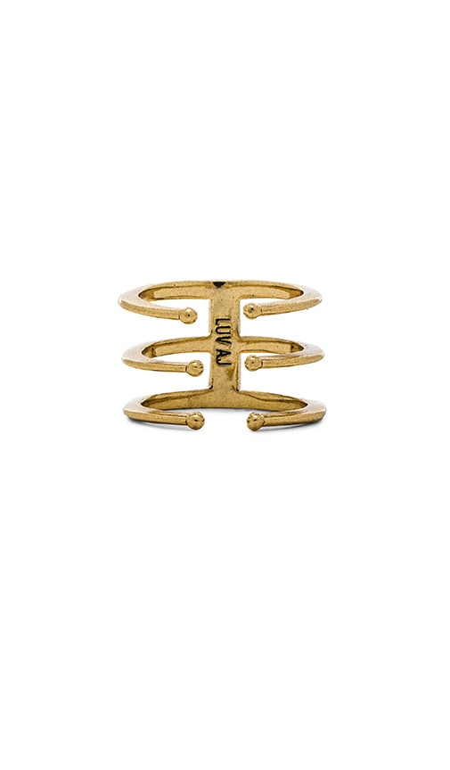The Triple Spear Ring