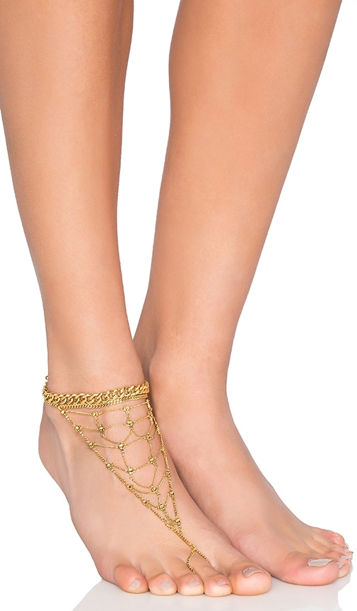 Luv AJ x REVOLVE Exclusive Anklet in 14K Gold