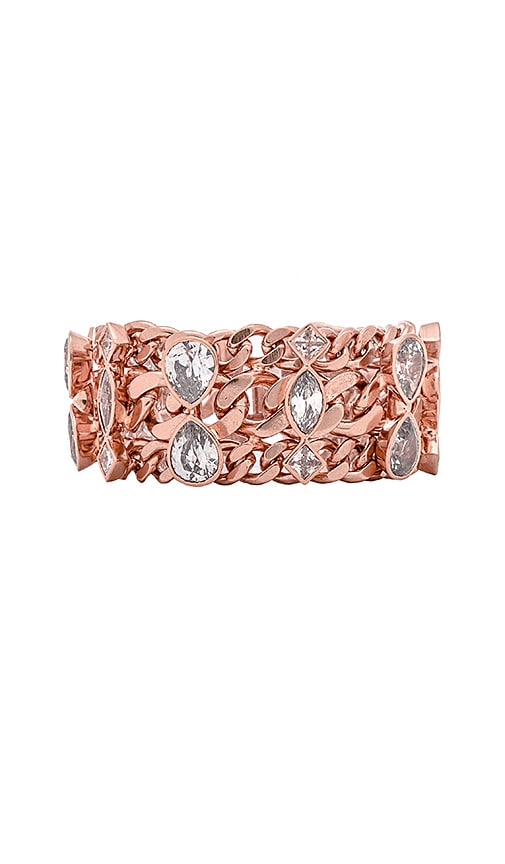 Luv AJ x REVOLVE Exclusive Stone Bracelet in Rose Gold